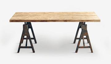 рабочие столы в стиле лофт