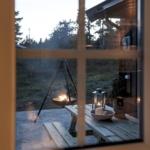 скандинавский интерьер загородного дома