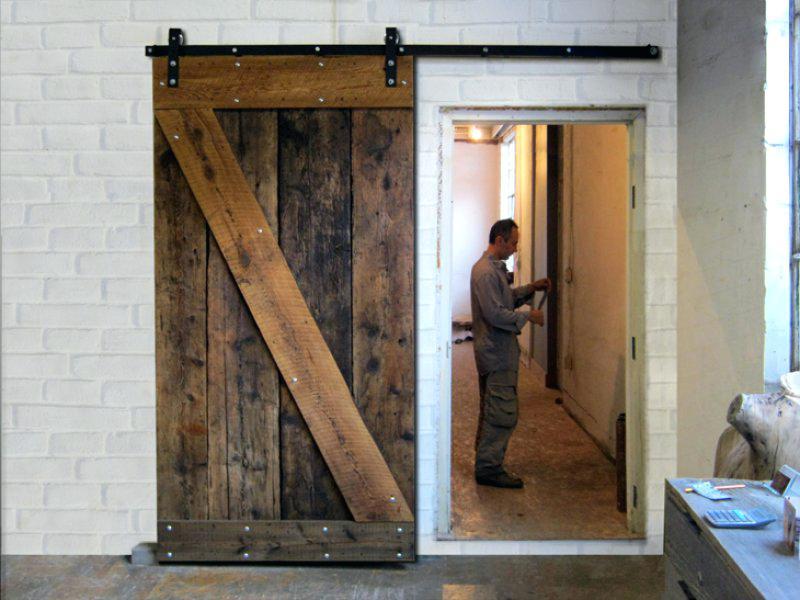 Дверь своими руками подвесная 21