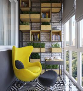 мебель на заказ для балкона